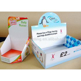 Small Cardboard Counter Top Display Boxes