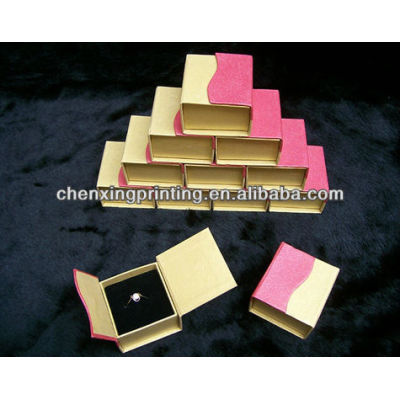 Recycled Square Kraft Paper Gift Box for Necklace