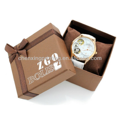 High Quality Cardboard Plain Paper Watch Box Packaging