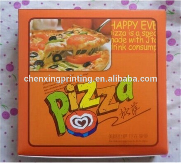 classical style pizza paper box,snadwich box, coo<em></em>kie packaging box