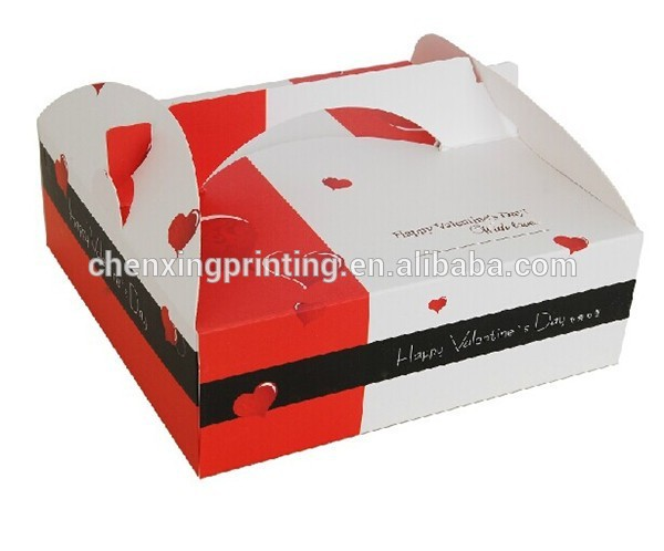 classical style pizza paper box,snadwich box, cookie packaging box