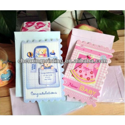 Decorating Customized Happy Birthday Handmade Greeting Cards