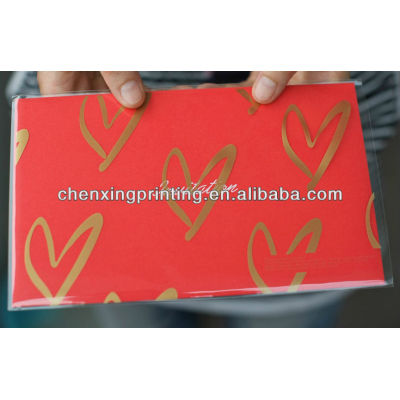 Customized Printing Folding Wedding Invitation Card with Factory Price
