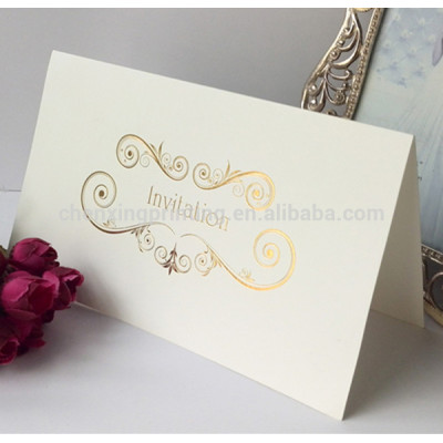 Eco-friendly Folding Wedding Invitation Cards with Factory Price
