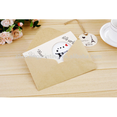 Wholesale Blank Greeting Cards and Envelopes Manufactturer Cheap Price