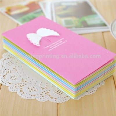 Hand Made Paper Folding Birthday Greeting Cards Design