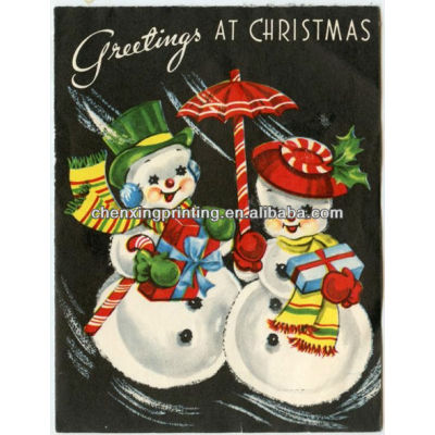 Fancy Christmas 3D Greeting Cards for Gift