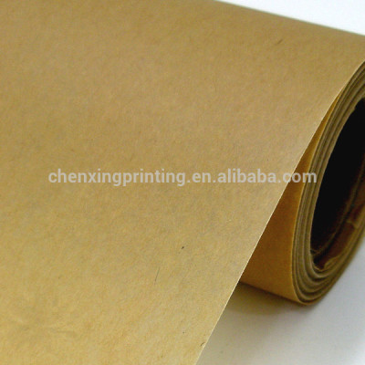 Food Grade Custom Printed Kraft Wrapping Paper Roll Manufacturer