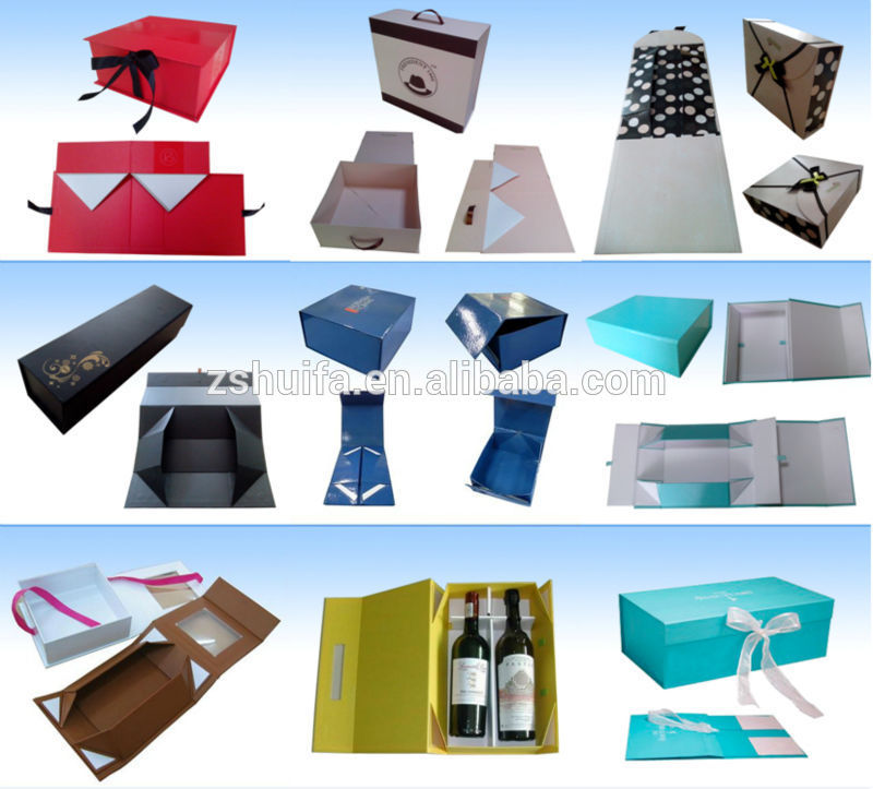 New style customized boxes paper packaging box wholesale with your own logo