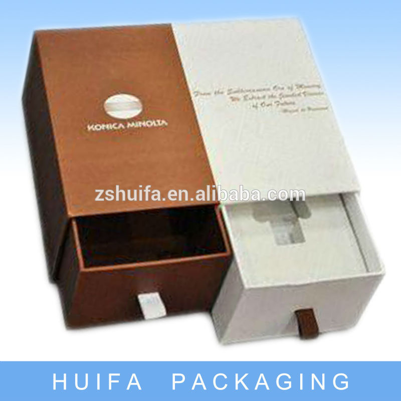 New style draw gift box wholesale with your own logo