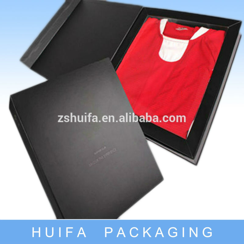New style custom box packaging for apparel wholesale with your own logo