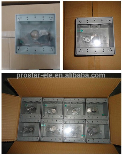 Weatherproof Electrical Outlet Box