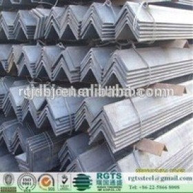 HOT!SS400 A36 Q235 Q345 S235JR ST37 Air Conditioner Bracket Workshop Bridge Building Mild Carbon Hot Dipped Galvanized Angle Bar