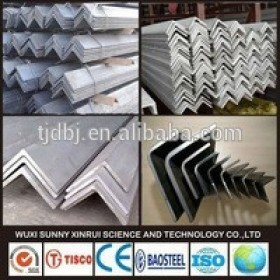 Steel Fatory EN or JIS Equal And Unequal A36, SS400, S235JR, S355JR MS Angle Steel Beam Prime Hot Rolled Mild Carbon Angle Steel