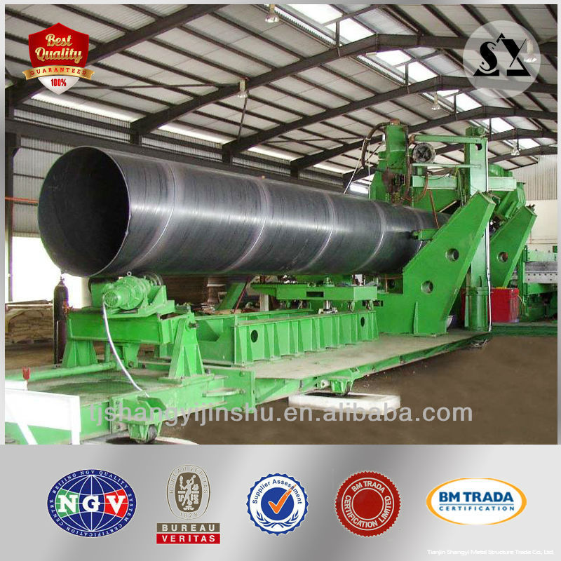 Spiral Seam Submerged ARC Welded Steel Pipe