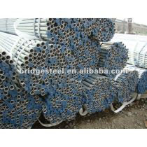 round section galvanized tube
