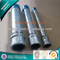 hot dip galvanized steel tube BS1387 ASTMA53 made in China