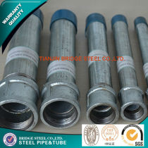 hot dipped galvanized steel tube A53 SS400 STK400