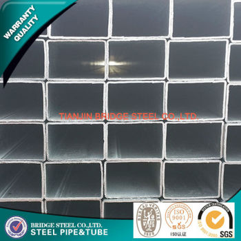 ASTM A500 galvanized square steel pipe made in China