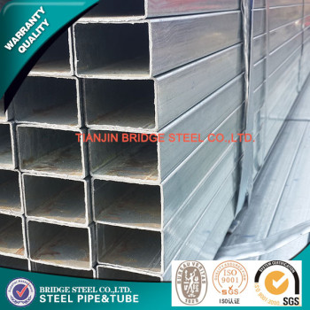 hot dipped galvanized square steel pipe ASTM A500 made in China