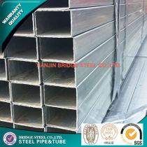 hot dipped galvanized square steel pipe ASTM A53,GB/T6728-2002