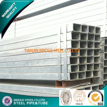ASTM A 53Hot Dipped Galvanized Square Steel pipe made in China