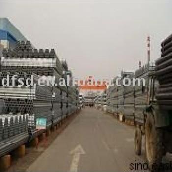 Q195 Welded galvanized steel pipe