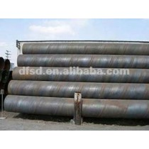 Helix welded spiral pipe/spiral pipe
