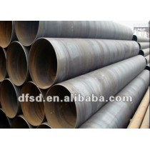 spiral steel pipe for fluid transportation