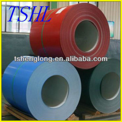hot rolled prepainted galvanized steel coil ppgi