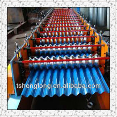curved galvanized corrugated roofing sheet/curved steel sheet