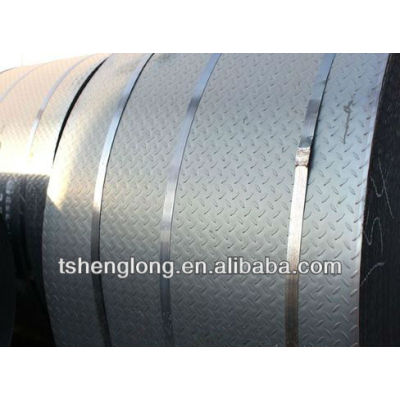 hot dipped galvanized chequered coil