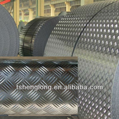 hot galvanized chequered coil