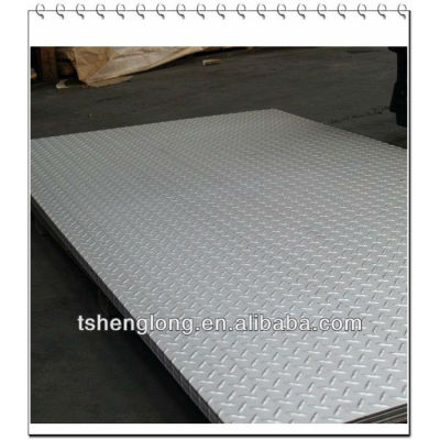hot galvanized chequered sheets