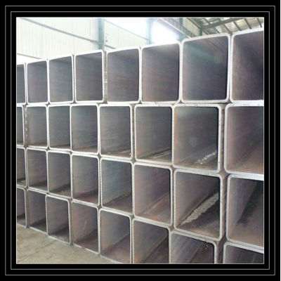 High quantity M/S Galvaznized steel square tubes