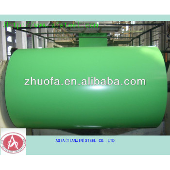 supply color coated steel coil roofing sheets PPGI coils by tianjin manufactory