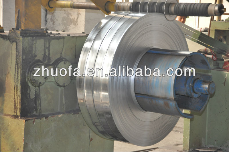 16-850mm SPCC Galvanized Steel Strip, Hot Dipped Galvanized Cold Rolled Steel Strip/coil 3.9mm thickness