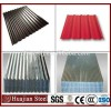 China Alibaba supplier Zinc coated corrugated roofing steel material galvanized steel sheet