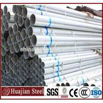 Q195 Q235 Q345 steel pipe export round Zinc Coat Galvanized Round Steel Tube
