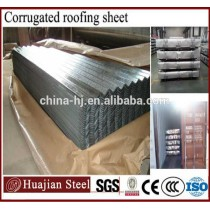 galvanized and color coated corrugated steel sheets/chromedek for roofing