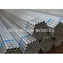 BS 1387 GR.B hot dip galvanized steel pipe