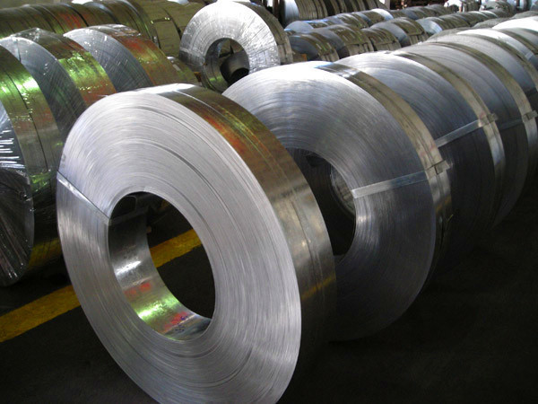 Q235 hot rolled steel galvanized strips