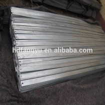Hot rolled perforated flat bars (hot galvanized)