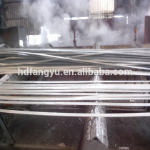 HOT ROLLED / SLITED / GALVANIZED FLAT STEEL (Factory)