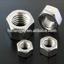 ANSI D-6 Hexagon Head nut 1/4