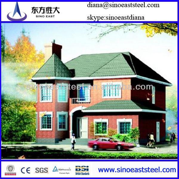 Hangar Villa/ Steel Structure House