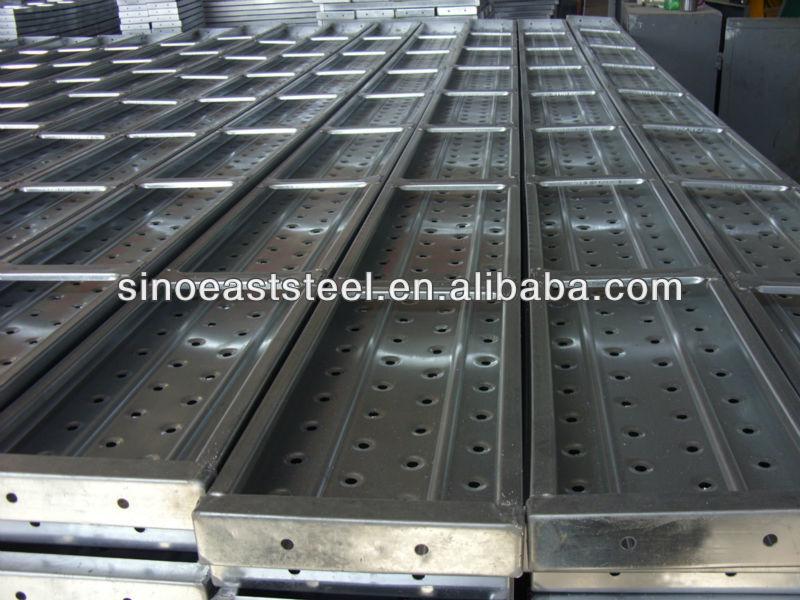 Galvanized Steel Scaffolding : Galvanized metal scaffolding plank buy