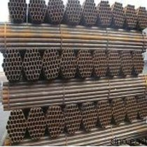 Black carbon steel scaffolding tube