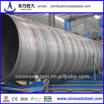 Large Diameter SSAW Spirally Steel Pipe