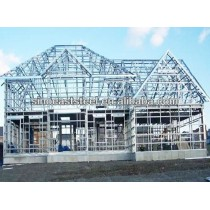 Painted Steel Scaffolding Frame for Building